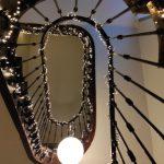 Escalier vu vers le haut