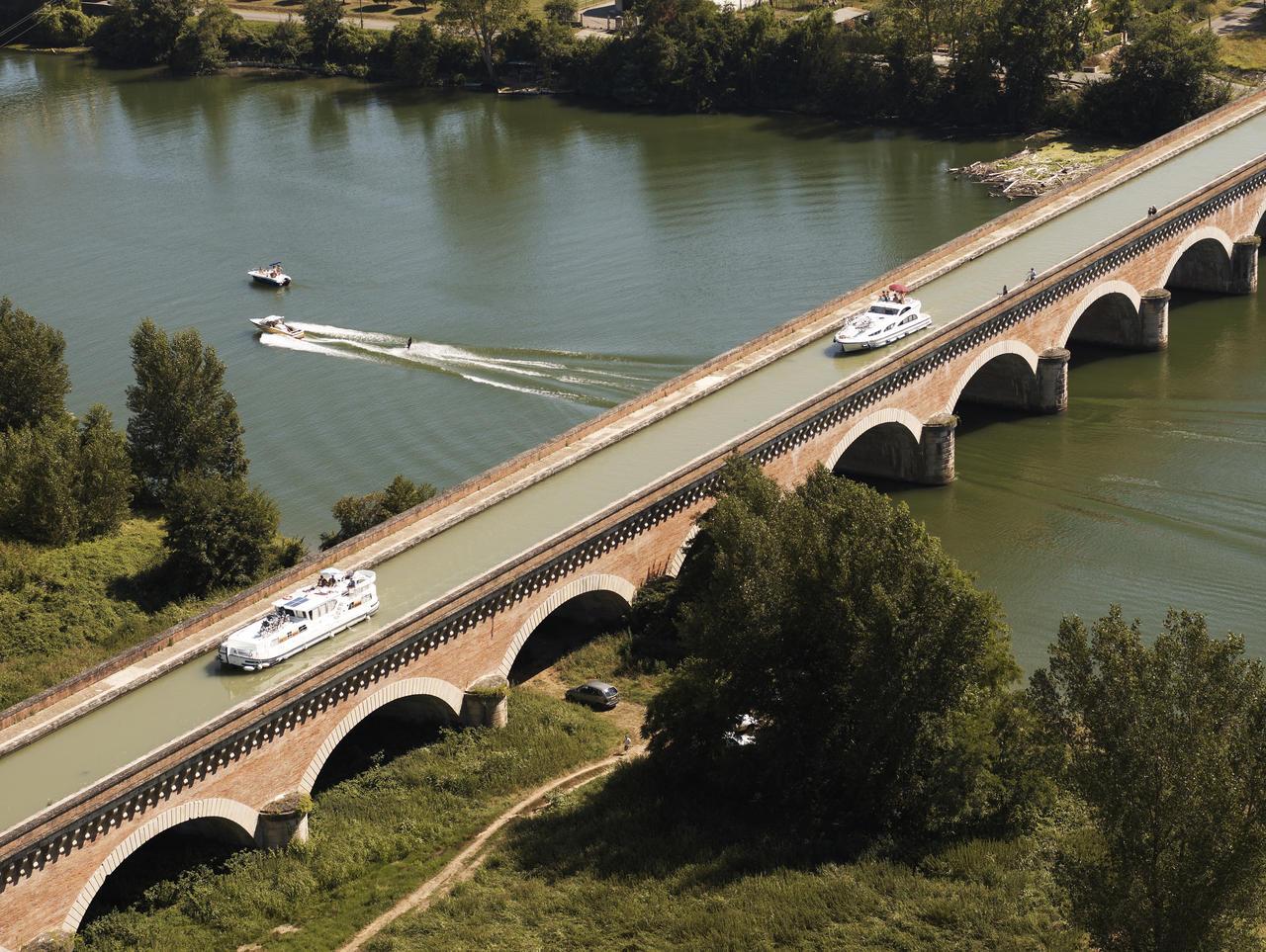 Le pont canal du Cacor